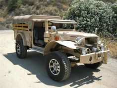 WWII Power Wagon on 1992 Dodge 4x4