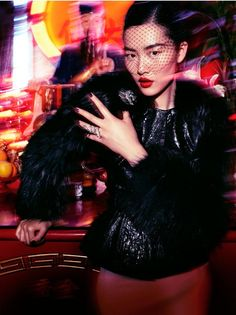 Liu Wen for Vogue Germany August 2012 - That Lady from Peking
