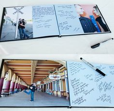Wedding Guest Sign In Photo Book - @Brittany Horton Moore can we do this please?!