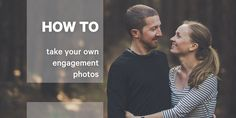 Ever wondered how to take your own engagement photos? My fiancee and I did it. Check out this post to read about how you can do it for yourself!