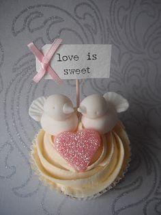 Cupcakes passarinhos