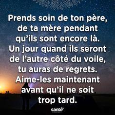#citations #vie #amour #couple #amitié #bonheur #paix #esprit #santé #jeprendssoindemoi sur: www.santeplusmag.com Word 3, Love Life, Islam, Sentences, Affirmations, Knowledge, Spirit, Advice, Messages