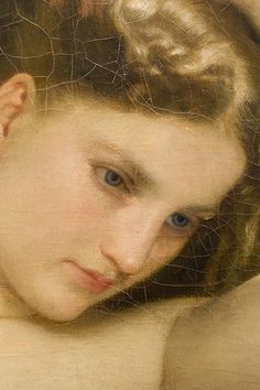 wasbella102:    Baigneuse (detail) 1870 by William-Adolphe Bouguereau  c0ssette: