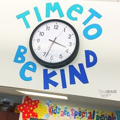 I love how this came out!  #timetobekind #theylookattheclockalot…