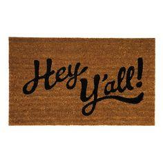 Hey Y'all Doormat   Kirklands