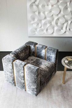 Rugiano is an italian manufacturer of luxury furniture Sofa Bed Design, Living Room Sofa Design, Home Room Design, Modern Luxury Bedroom, Luxury Sofa, Luxurious Bedrooms, Luxury Chairs, Sofa Furniture, Luxury Furniture