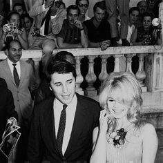 Brigitte Bardot at The Copacabana Palace Hotel in Rio de Janeiro, 1964.