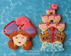Girl Pirate Cookies