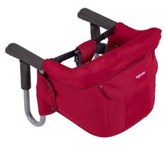 Pack a travel seat like this for vacations, because you never know if restaurants will have a high chair.