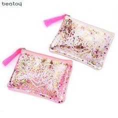 Item Type: Purses Decoration: Glitter, Tassel Closure Type: Zipper Material: Soft Synthetic PVC and Synthetic Leather Style: Korean Cute Color: Cutie Pink, Smoothie White Size: Pvc Transparent, Glitter Purse, Glands, Jelly Bag, Fashion Bags, Fashion Handbags, Women's Fashion, Girls Bags, Online Bags