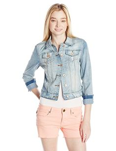YMI Juniors Denim Jacket, Light Wash, Small YMI http://www.amazon.com/dp/B00OL4RRYS/ref=cm_sw_r_pi_dp_P377ub1YXKF2X