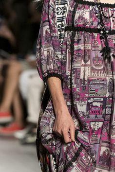 Anna Sui at New York Fashion Week Spring 2018 - Details Runway Photos