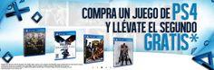 GamePlanet: 2×1 en juegos de PS4