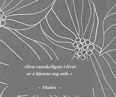 Sitat Thales