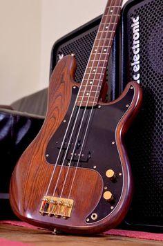 Fender Precision Bass Dark Natural