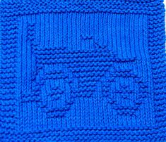 Knitting Cloth Pattern  MOTORCYCLE  PDF by ezcareknits on Etsy, $2.85