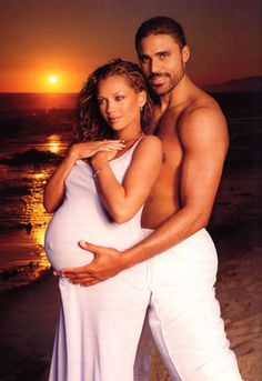 Vanessa Williams and Rick Fox- Their marriage is over, but they still remain good friends for their daughter.