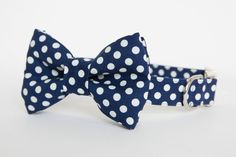How cute is this? Dog bow tie collars