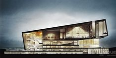 Second World War Museum, Rafal Barnas - CGarchitect - Architectural Visualization - Exposure, Inspiration & Jobs Coupes Architecture, Museum Architecture, Architecture Graphics, Architecture Board, Architecture Portfolio, Architecture Drawings, Architecture Details, Sections Architecture, Chinese Architecture