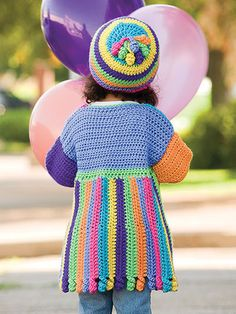 Picture of Crochet Scrap Jacket & Hat