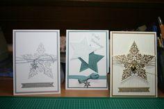 Weihnachten, Stampin up, Stempeln, Stanzen, Prägen,