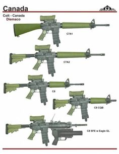 """CF Rifles and Carbines - Why can't we Canadian's hunt with a civilian semi-automatic version of the C7A1 or C7A2 (barreled longer than 18 1/2"""")? You Yank's got it good!"""