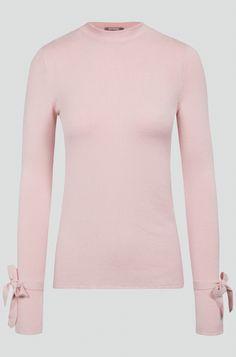 Pullover mit Schleifen