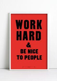 Especially be nice