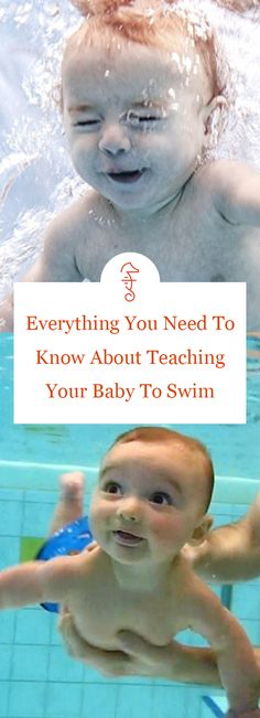 Everything You Need To Know About Teaching Your Baby To Swim via @FatherlyHQ