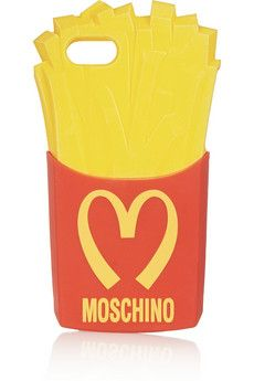 Moschino French Fries iPhone 5 cover | NET-A-PORTER