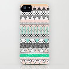 CHEVRON MOTIF iPhone & iPod Case by Vasare Nar - $35.00