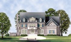 Chestnut Street House Plan 7938 - 3 Bedrooms and 4.5 Baths | The House Designers