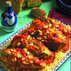 South of the Border Chicken Breasts on BigOven: Flavorful and Spicy