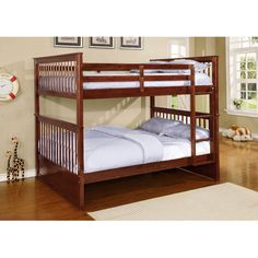 Features:  -Can be separated to 2 beds.  -Mattress not included.  -Bed comes with slats.  Bed Design: -Slat.  Frame Material: -Wood.  Life Stage: -Kid/Teen.  Gender: -Neutral.  Style (Old): -Contempor
