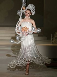 Most unusual wedding dresses
