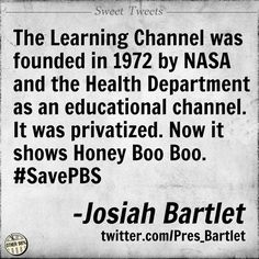 Sigh, I remember when it actually was educational . . . and the History Channel had history and TLC was about learning and A&E showed cultural arts and entertainment.