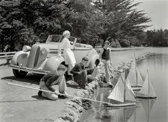 Shorpy Historic Picture Archive :: Smooth Sailing: 1936 high-resolution photo