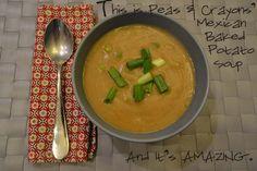 Vegan. Mexican Baked Potato Soup [Vegan/Gluten Free] instantPotato