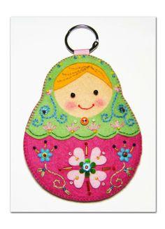 俄羅斯娃娃卡套#013 - Julie | Pinkoi