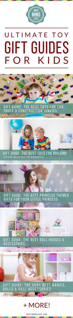 Toy Gift Guide For Kids | Top Rated Gift Ideas For Boys and Girls | Detailed Product Recommendations Broken Down By Interest | Best STEM Toys | Best Building Toys For Toddlers | Gift Ideas For Babies, 1 Year Olds, Preschoolers, Kindergarteners to Tweens and Teens | from What Moms Love
