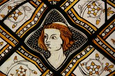 Medieval stained glass in V