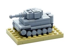 The most fearsome German heavy tank, Panzerkampfwagen Tiger Ausf. E. Its turret can be placed in 4 different directions.