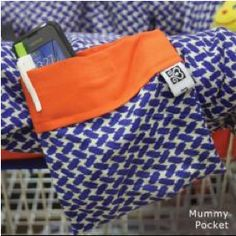 baby m shopping cart cover has a functional mummy pocket for items such as ; mobile phones, cash, grocery list etc .. follow @babym_products on twitter and instagram .. ship worldwide also available on www.fashlink.com