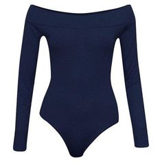f8e1d681d Sexy Off Shoulder Bodysuit Tops Women Fashion Long Sleeve Bodycon Jump –  rricdress