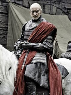"Charles Dance, Game of Thrones  Walter Charles Dance, OBE is an English actor, screenwriter, and film director. Dance typically plays assertive bureaucrats or villains. Wikipedia  Born: October 10, 1946 (age 66), Redditch Height: 6' 3"" (1.91 m) Partner: Eleanor Boorman (2010–) Spouse: Joanna Haythorn (m. 1970–2004) Children: Oliver Dance, Rebecca Dance"