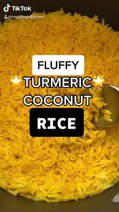 Coconut Basmati Rice, Coconut Milk Rice, Basmati Rice Recipes, Indian Basmati Rice, Cooking Basmati Rice, Indian Food Recipes, Vegetarian Recipes, Cooking Recipes, Healthy Recipes
