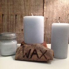 Lakeside-A fresh, clean, brisk scent with a hint of birch bark and marine. Made by Wax Candle Company. Available at Handworks Helena. http://www.handworkshelena.com/product/wax-candle-company-lakeside/