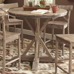 Callista Round Counter Height Table by Largo