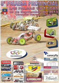 Recta final del campeonato 1/8 TT GAS en Gran Canaria. #Automodelismo #Canarias