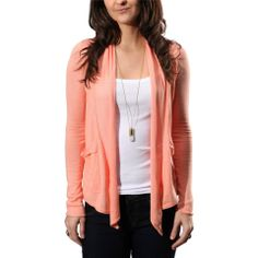 Billabong 'Old Town Luv' cardigan $55 Also available in army green and oatmeal heather